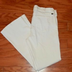 Lucky Brand Sofia boot cut white jeans SZ 16/33